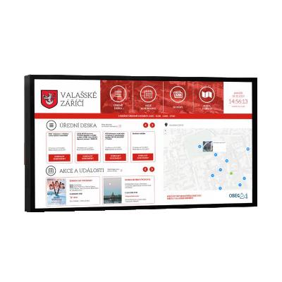Digitální horizontální úřední deska